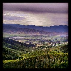 The Heber valley.