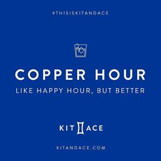 THIS WEEKEND: Come join us this Saturday & Sunday for Copper Hour at @kitandace on Queen Street West. We'll be serving our delicious and iced The Mango Tango from 1-4pm!  . . #saharatea #wellness #tea #wellnesstea #copperhour #kitandace #thisiskitandace #summer #themangotango #icedtea #happyhour
