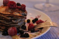 Pancakes, without flour and milk.