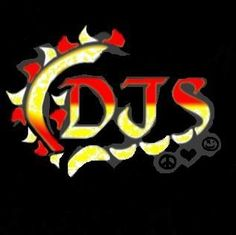DJSTITCHES LOGO DARREN JOHNSON STITCHES INCLUDES SUN AND 13 SUNRAYS, THE S HAS STITCHES THAT TURN INTO THE 13TH SUNRAY.  PEACE LOVE HARDCORE
