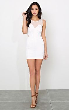 Tryst Night Bodycon Dress - New Arrivals