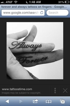 Forever & always-him and her