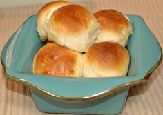 Soft, sweet bread! This is the dinner roll recipe I've been using for a few months now.