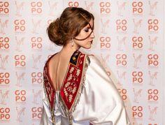 Iulia Albu a avut cercei de 40.000 de euro la premiile Gopo! on http://www.fashionlife.ro