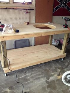 Ardent Goods Short Order Cook Prep And Grilling Table For
