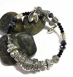 Silver Wrap Bracelet  Memory Wire Bracelet  by TheaDesignConcepts