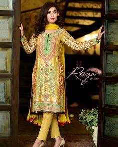 An invigorating yellow dress to freshen up your day this wedding season. #ruyabyjiah #yellow