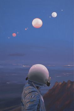 "Opening this coming weekend on August 13th, 2016 for Thinkspace Gallery's group exhibition ""The New Vanguard"" at MOAH Lancaster in Lancaster, California- artist Scott Listfield's solo presentation ""Once An Astronaut."""