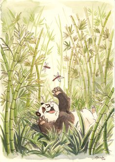 Bamboo Forest by *malta on deviantART
