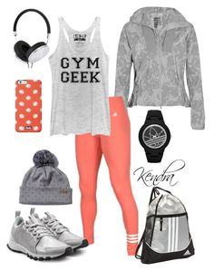"""""""Gym Geek"""" by k1974johnson1117 ❤ liked on Polyvore featuring adidas, Frends and Keds"""