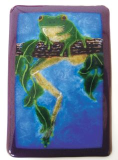 Made with Grenadine Red Transparent Medium Frit, 8.5 oz - 96 COE
