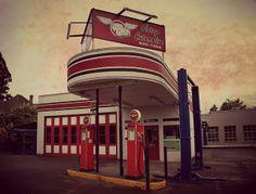 #Vintage Gas Station Oletsgo   Flickr - Photo Sharing!