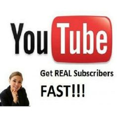 seomans: give you 300 Real youtube subscribers for $5, on fiverr.com