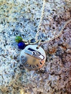 """ONE DAY SALE Official Nfl Logo Charm Necklace by MilestonesShop, $30.00ONE DAY SALE ON ALL SPORTS INSPIRED JEWELRY!!!! WE LOVE OUR FAVORITE TEAMS, WEAR THIS NECKLACE PROUDLY!! USE COUPON CODE """"SPORTSSALE20"""" AT CHECKOUT.  There is no fan like a football fan! Show how much you love your favorite football team by wearing it close to your heart... Or give it as a gift to that special football fanatic. We can customize this to ANY NFL football team!"""