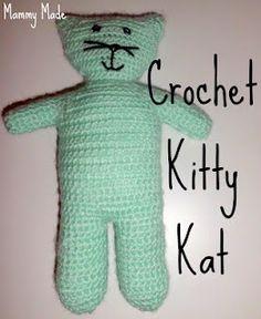 Crochet Kitty Kat. FREE Pattern!