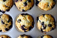 even more perfect blueberry muffins | smittenkitchen.com