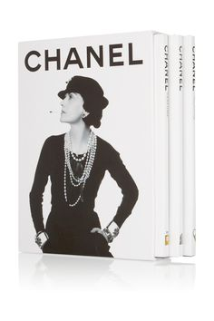 Assouline | Chanel by François Baudot and François Aveline set of three hardcover books | NET-A-PORTER.COM