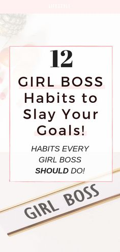 Girl Boss Habits to Slay Your Goals For Success Girl Boss Habits to Slay Your Goals For Success! ♡ 12 Habits Every Girl Boss Should Do! Girl Boss Habits to Slay Your Goals For Success! ♡ 12 Habits Every Girl Boss Should Do! Be Your Own Boss, Like A Boss, Business Goals, Business Tips, Online Business, Business Branding, Business Quotes, Planners, Habits Of Successful People