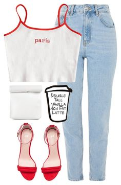 """""""_"""" by emilypondng ❤ liked on Polyvore featuring Topshop, H&M, casual, casualoutfit and CasualChic"""