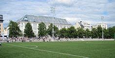 Frogner Stadion - Oslo, Norway.  Oldenborg - VIF 1-12, NM 1 runde, 01.05.2011