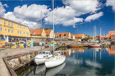 Christian Müringer - Fischerhafen von Svaneke auf Bornholm (Dänemark)