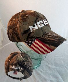 NCIS Flag Camo Cap, NCIS Caps, Clothing and Gear ~ at Streepwear Ncis Rules, Camo, Baseball Hats, Flag, Tv, Clothing, Movies, Style, Camouflage