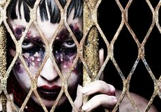 CLM - Photography - rankin - unhinged - makeup by linda orhstrom