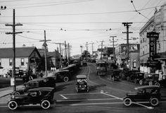 Yesterday's Print — Redondo Beach, California, 1924 Redondo Beach Pier, Redondo Beach California, Manhattan Beach California, Southern California, San Luis Obispo County, San Fernando Valley, Hermosa Beach, Surf City, Beach Town