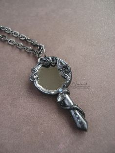 Ivy-Wrapped Hand Mirror by candymonsters.deviantart.com    make the mirror from beauty and the beast?