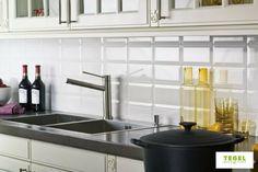 Tegels Metro Keuken : Wandtegels metro steenbok biselado zwart