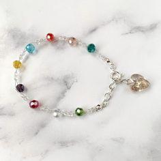 Croí Bracelet This LOVE inspired bracelet makes the perfect gift for your loved one this Valentine's Day. Handmade Bracelets, Handmade Jewelry, Beaded Bracelets, Unique Jewelry, Unique Gifts For Her, Czech Glass Beads, Beautiful Earrings, Bracelet Making, Dangle Earrings