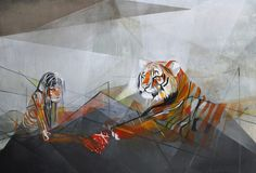 Tiger and babe