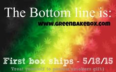 Why is Green BakeBox the bottom line? Because no other subscription company does it like us - we guarentee it! All the way from customer service to hottest products, you'll wish we were around years ago:) #cannabis #hemp #thc #420 #toker #stoner #stoned #legalize #highsociety #kush #pot