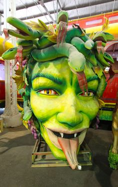 Blaine Kern's Mardi Gras World, A Behind-The-Scenes Tour of Where Mardi Gras Floats & Props Are Made
