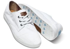 White Canvas Men's Paseos | TOMS