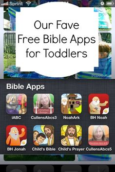 Our Fave Bible Apps for Kids- I see Cullen from St. Timothy's Lutheran Church in the mix!