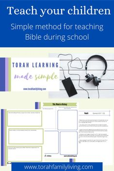Torah Learning Made Simple is set up as a quick course to walk you through my Simple Torah teaching system. We'll start with an audio, laying out a step by step framework for learning Torah as a parent, and teaching it to your children. A big obstacle in teaching your children is often feeling like you don't understand it yourself. Thankfully, you can easily learn together as you start out. Homeschool Curriculum Reviews, Homeschool Books, Sunday School Teacher, School Today, Child Teaching, Bible Translations, Creative Writing Prompts, Bible Activities, School Subjects