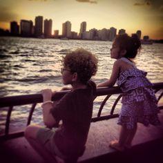 #Kids, #NYC, #skyline, #summer  #love http://BuddhafulBritt.com  #river #july4 #manhattan #newyork