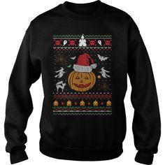 Ugly Christmas Sweater Halloween Edition T-Shirt Christmas 24, Christmas Humor, Funny Christmas Shirts, Ugly Christmas Sweater, Cool T Shirts, Pink White, Hoodies, Usa, Halloween