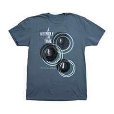 One of my favorite books I read as a kid...    Wrinkle In Time Tee Men's, $20, now featured on Fab.