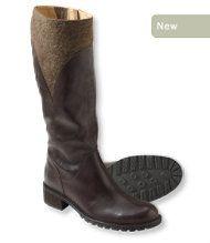 Women's Deerfield Leather Wool Boots
