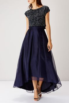 Sparkly bridesmaid dress - 38 Chic And Trendy Bridesmaids' Separates Ideas Pretty Dresses, Beautiful Dresses, Sparkly Bridesmaid Dress, Bridesmaid Skirt And Top, Dress For Wedding, Coast Bridesmaid Dresses, Wedding Skirt, Lace Bridesmaids, Bridesmaid Outfit