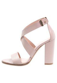 Sandały Zalando Iconics Sandały nude Modne Buty  Wyprzedaże Sklep Online