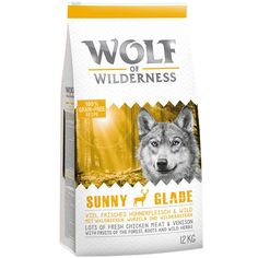Animalerie  Wolf of Wilderness Sunny Glade pour chien  2 x 12 kg