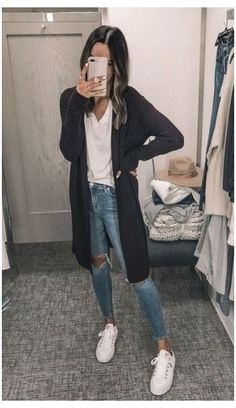 Lazy Fall Outfits, Casual College Outfits, Cute Outfits For School, Cute Comfy Outfits, Winter Outfits Women, Teen Fashion Outfits, Outfits For Teens, Trendy Outfits, Comfy College Outfit