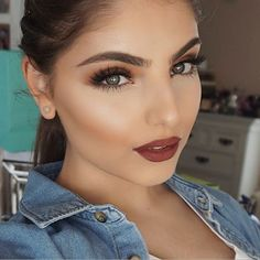 Have you guys seen my video on this super simple fall inspired look? Link in bio! #heidimakeupartist
