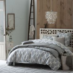pretty ikat bedding