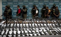 """7. Their """"sworn enemy""""Michael S. Vigil, former chief of international operations for the DEA , said Los Zetas have been at odds with the Jalisco new Generation Cartel for a decade, calling the cartel their """"sworn enemy."""" So much that the Jalisco New Generation Cartel also go by """"Mata Zetas,"""" which means """"kill zetas"""" in Spanish. Photo: YURI CORTEZ, AFP/Getty Images"""