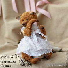 Представляю вашему вниманию удивительные авторские игрушки, мишки тедди мастера из Москвы Ларисы Гавриковой. Игрушки, созданные руками Ларисы, особенные. В них,