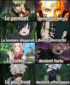 the loser becomes the hero, the light becomes the darkness, the weak becomes strong, the coldest becomes affectionate Naruto Uzumaki, Naruto Sasuke Sakura, Itachi, Boruto, Kakashi Hatake, Otaku Anime, Manga Anime, Manga Naruto, Naruto Team 7